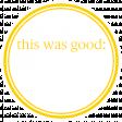 Basics Tag 01 Yellow Good