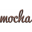 For The Love - Wordart - Mocha