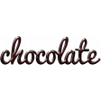 For The Love - Wordart - Chocolate
