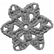 Crochet Flowers No.2 - Templates - Flower 11