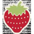 Picnic Day Sticker - Strawberry