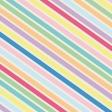 Happy Birthday - Minikit - Paper - Diagonal Stripes