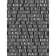 In The Pocket - Filler Journal Cards - Words Black