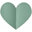 Spring Day - Elements - Folded Heart Mint