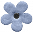 Spring Day - Elements - Leather Flower Blue