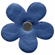 Spring Day - Element - Leather Flower Dark Blue