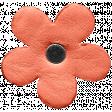 Spring Day - Element - Leather Flower Orange