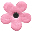Spring Day - Element - Leather Flower Pink