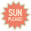 Spring Day - Elements - Word Art - Sun Please