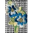 Secret Garden - Elements - Embroidered Flowers