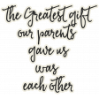 Family Day - Elements - Wordart - Greatest Gift