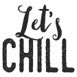 In The Pocket - Elements - Word Art - Lets Chill