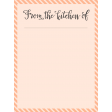 Food Day - Journal Cards - From Kitchen - 3x4