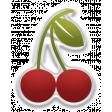 Food Day - Elements - Cherry Sticker