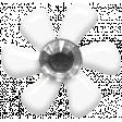 Fresh - Elements - Tiny Flower - White