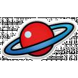 The Mad Scientist - Elements - Planet - Sticker