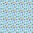 The Mad Scientist - Patterned Paper - Elements - Blue