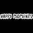 Good Life April - Minikit - Word Art - Happy Moments