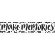 Good Life April - Minikit - Word Art - Make Memories