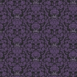 Gothical Papers - Paper 02 - Purple Damask Skulls