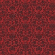 Gothical Papers - Paper 03 - Red Damask Skulls