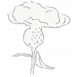 Mixed Media 5 - Elements - Centaurea Cutout