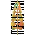 Mixed Media 5 - Elements - Orange Leaf Cutout