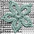 The Nutracker Minikit - Mint Crochet Snowflake