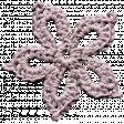 The Nutcracker Minikit - Pink Crochet Snowflake