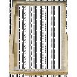 Jane - Frames - Stacked Torn Paper & Lace - Frame 5