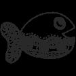 Summer Splash - Zentangle Doodles - Fishy