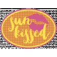 Summer Splash - Elements - Word Art - Sun-kissed