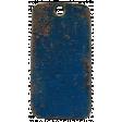XY - Elements - Navy Metal Tag