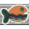 Summer Splash - Stickers - Fishy