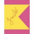 Summer Splash  - Journal Card - Smile