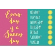 Summer Splash - Journal Cards - Textured - Every Day Sunny Day