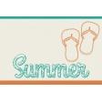 Summer Splash - Journal Cards - Textured - Summer