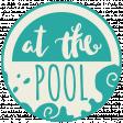 Summer Splash - Elements - Word Art - At the Pool
