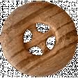 Autumn Day - Elements - Wooden Button