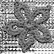 Crochet Flowers - Templates - Crochet01 - Snowflake