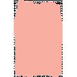 Create Something - Elements - Peach Paint Brush 2
