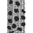 Create Something - Elements - Black Paint Dots