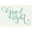 Sweet Dreams - Journal Cards - Good Night