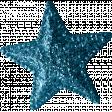 Sweet Dreams - Elements - Teal Glitter Star
