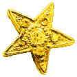Sweet Dreams - Elements - Gold Metal Star