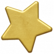 Christmas Day - Elements - Gold Star