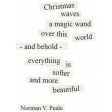 Christmas Day - Elements - Word Art Norman Peale