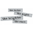 Dream Big Elements Kit - Word Art - Dark Night Bright Star