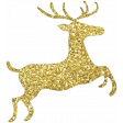 Christmas Day - Elements - Gold Deer