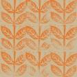 Unwind - Papers - Orange Leaves